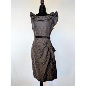 Marc by Marc Jacobs Little Black Polkadot Dress